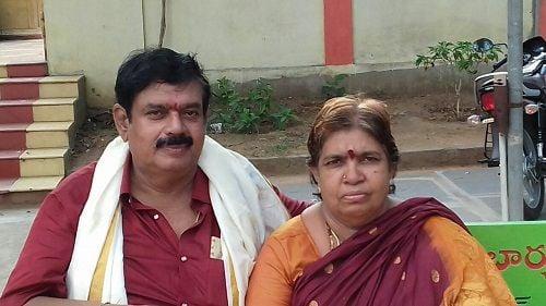 Goparaju Ramana and his Wife
