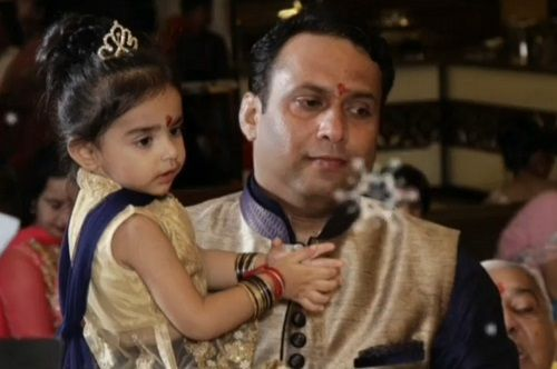 Mannat Murgai and her Father