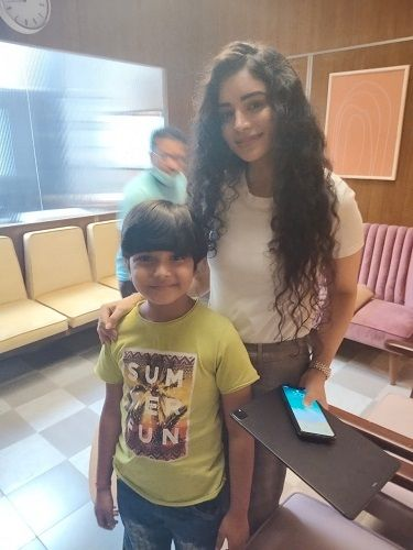 Neil Sharma with Sukirti Kandpal