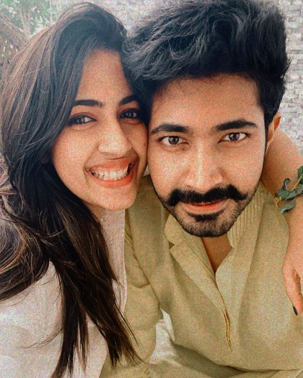 Niharika Konidela with her husband Chaitanya Jonnalagedda