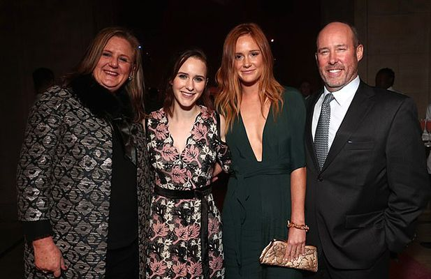Rachel Brosnahan with her Family