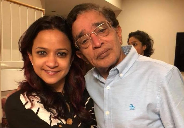 Ram Sampath's father and sister