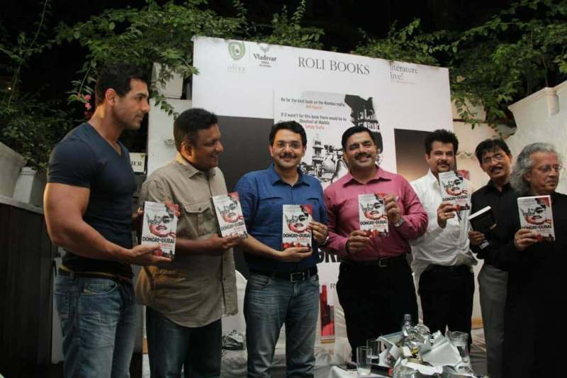 Shootout at Wadala team with Hussain Zaidi's book Dongri to Dubai