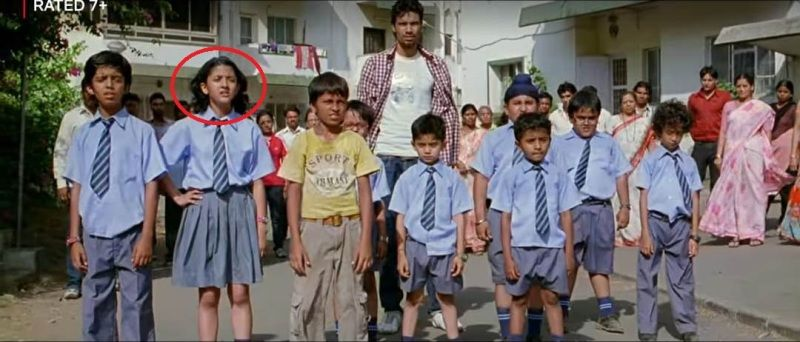 Shriya Sharma in the film 'Chillar Party'