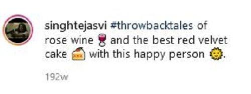 Tejasvi Singh Ahlawat's Instagram Post