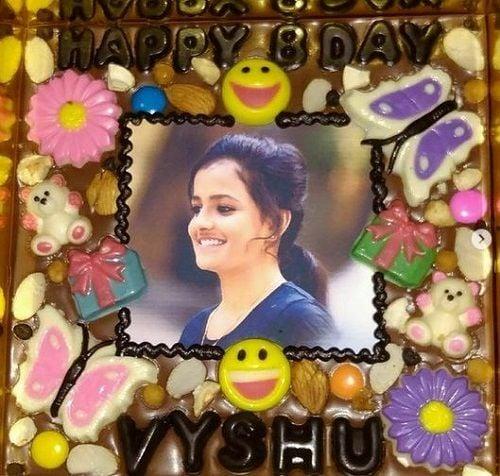 Vaishnavi Chaitanya's Birthday Cake