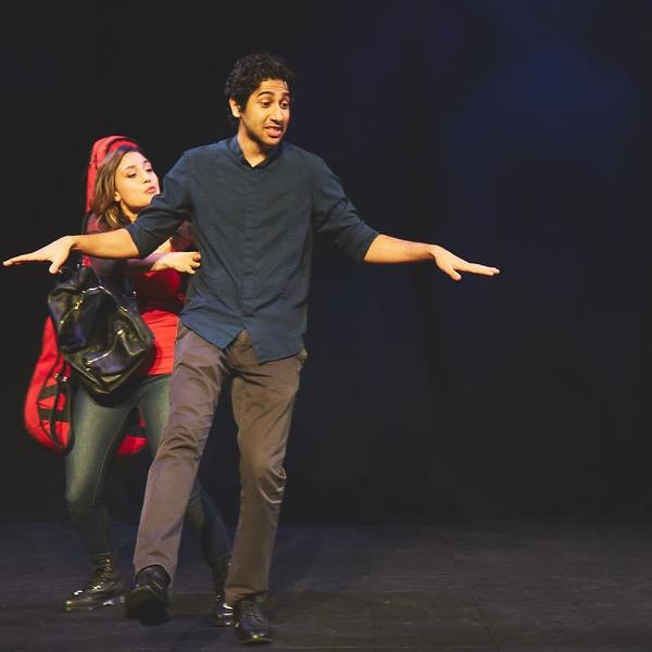 Vihaan Samat in the play In A Good Way (2018)