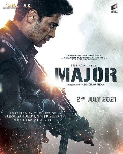First look of the movie Major