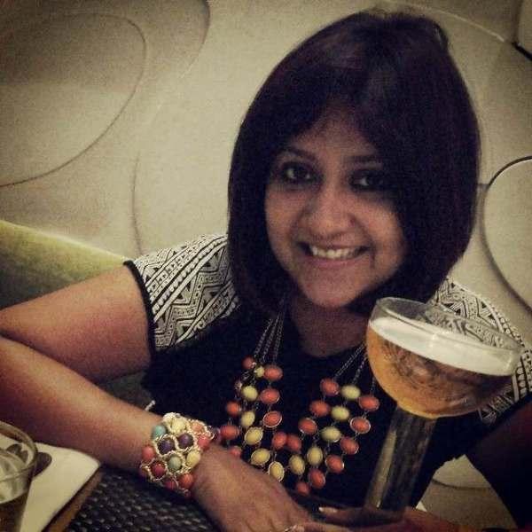 Lekha Gupta drinking alcohol