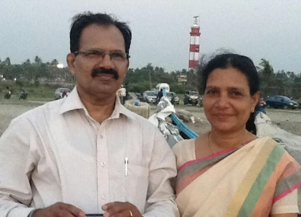 Sreenath Bhasi's parents