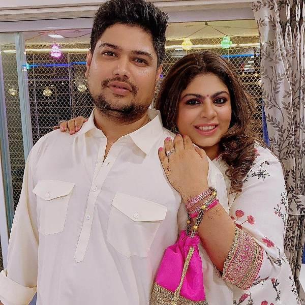 Vardan Nayak with wife Kanak Randhawa
