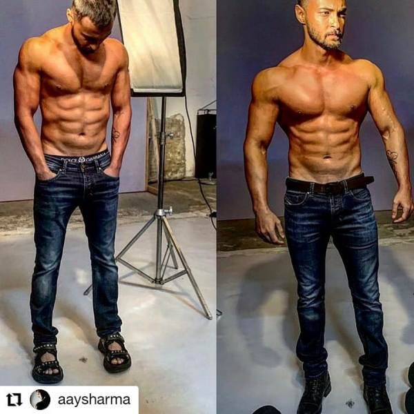 Aayush Sharma Diet and Workout