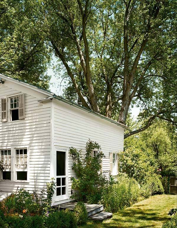 Bibhu Mohapatra's 200-year-old farmhouse in Stuyvesant in upstate New York