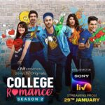 College Romance Season 2 (Sony Liv) Actors, Cast & Crew