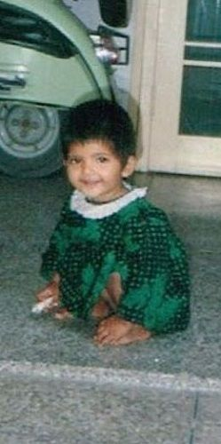 Gouri Agarwal's childhood picture