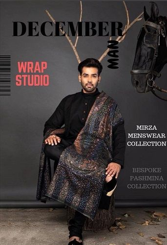 Karan Khanna featured on the cover of a magazine