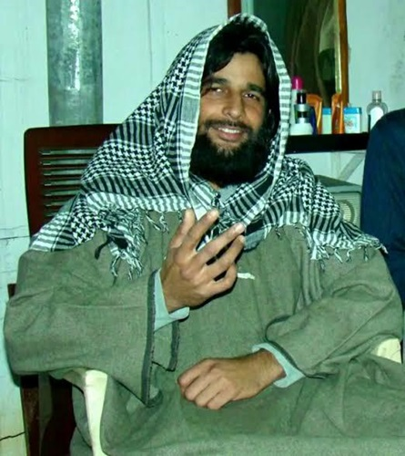Major Mohit Sharma's look for the undercover mission of joining Hizbul Mujahideen