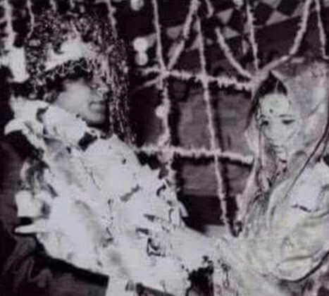 Narendra Chanchal wedding picture