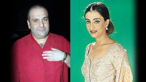 Rajiv Kapoor and his wife