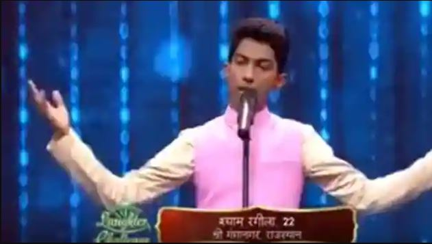 Shyam Rangeela in The Great Indian Laughter Challenge