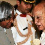 A.K. Hangal with Dr. A. P. J. Abdul Kalam