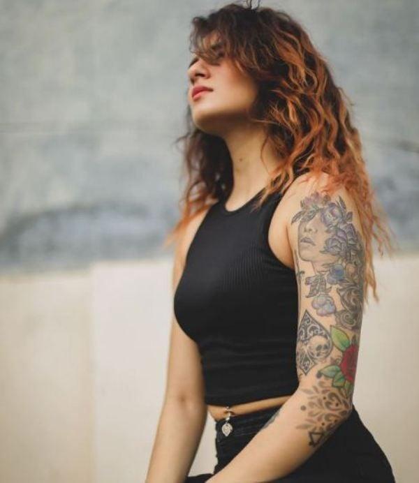 Aarushi Dutta's Tattoos
