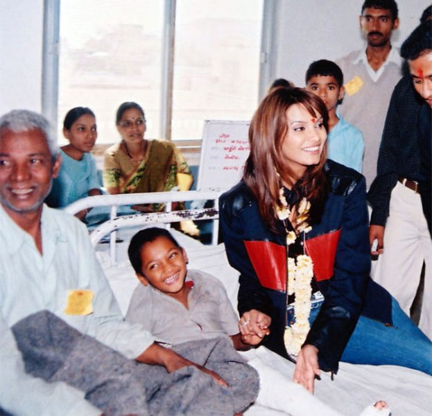 Diana Hayden at a hospital