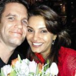 Diana Hayden with her husband