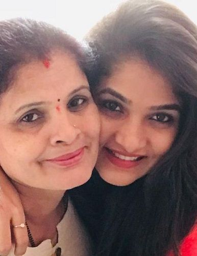 Divya Suresh and her mother