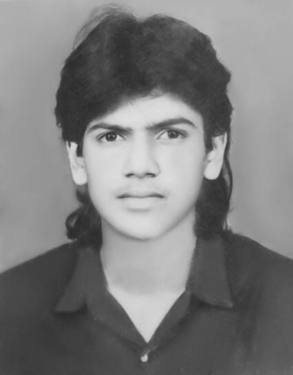 Firoz Khan in his youth