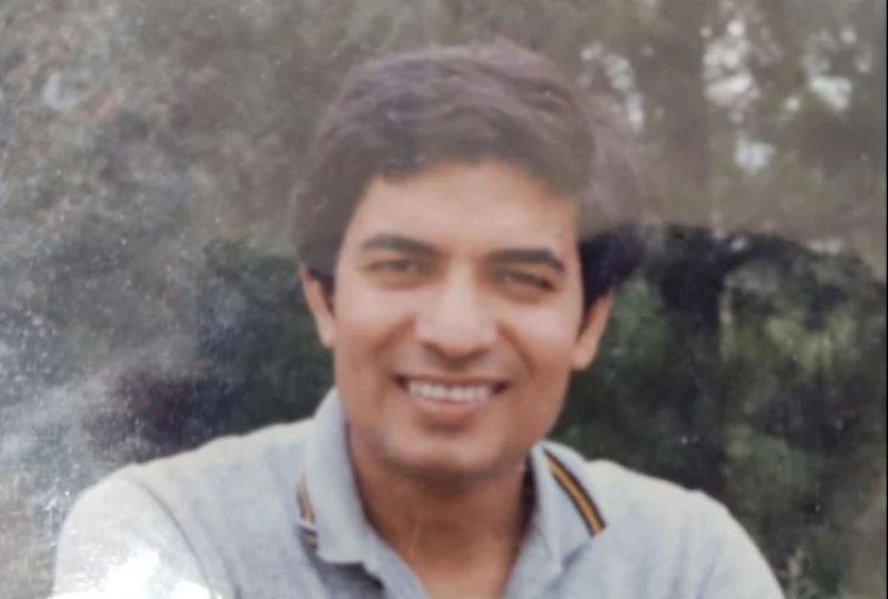 Jay Chaudhry in his youth