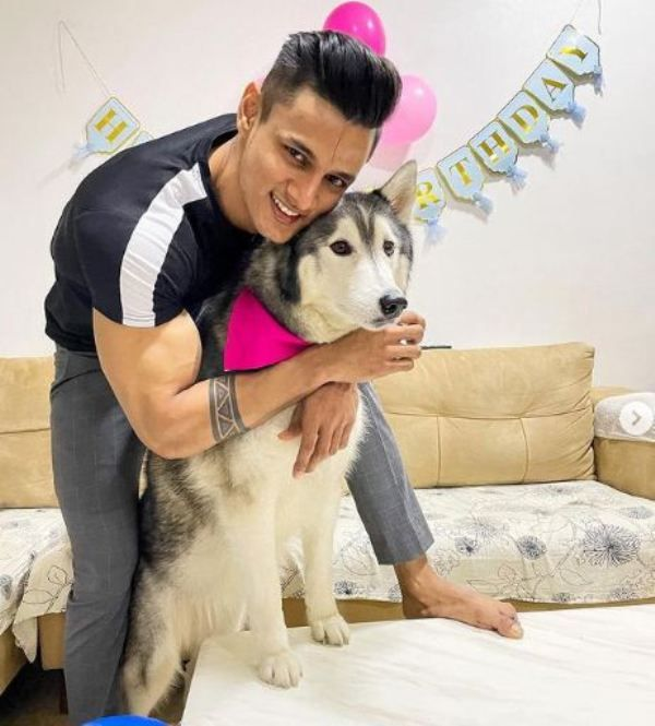Jay with his pet