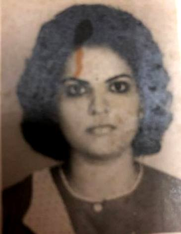 Navika Kumar in her youth