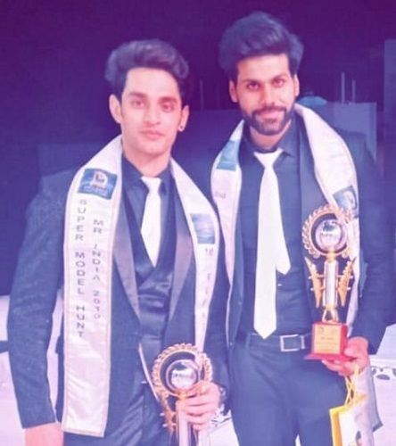 Samarthya Gupta after winning Mr India 2019