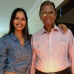 Ujjwala with her father