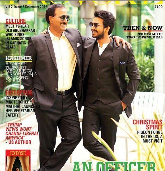 Vishnu Vishal on the cover of the Provoke magazine