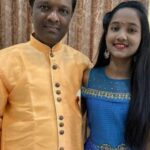 Anjali Gaikwad with her father