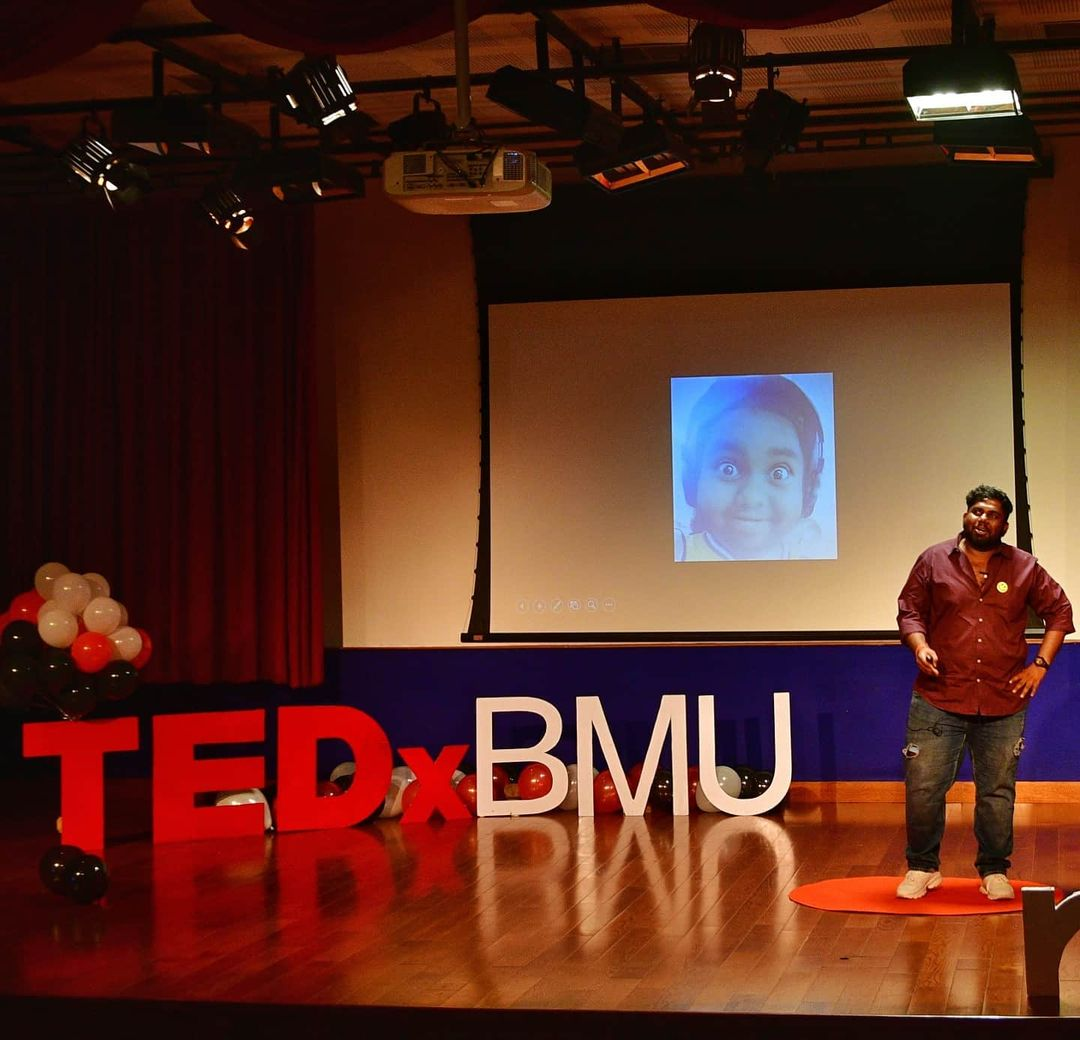Harsha Chemudu at TEDx