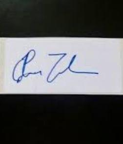 Jhye Richardson signature
