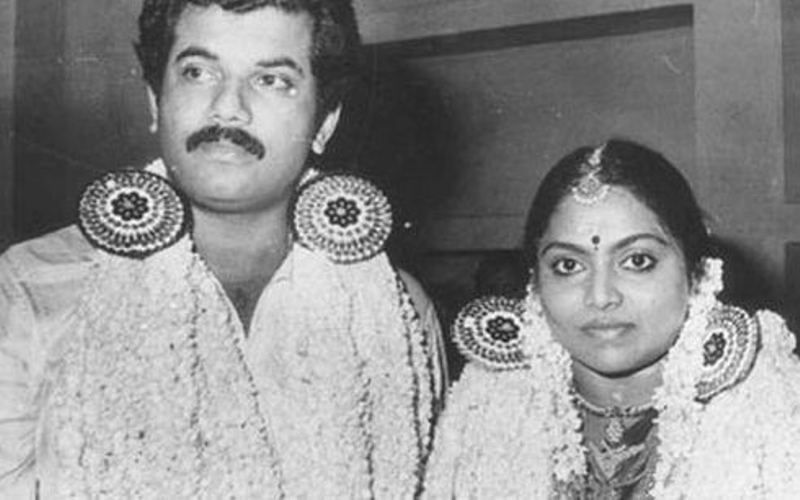 Mukesh Madhavan's First Wedding Picture With Wife Saritha