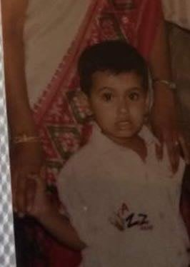 Nupur Shikhare's childhood photo