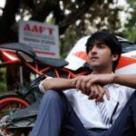 Rajat Verma with his KTM RC Bike