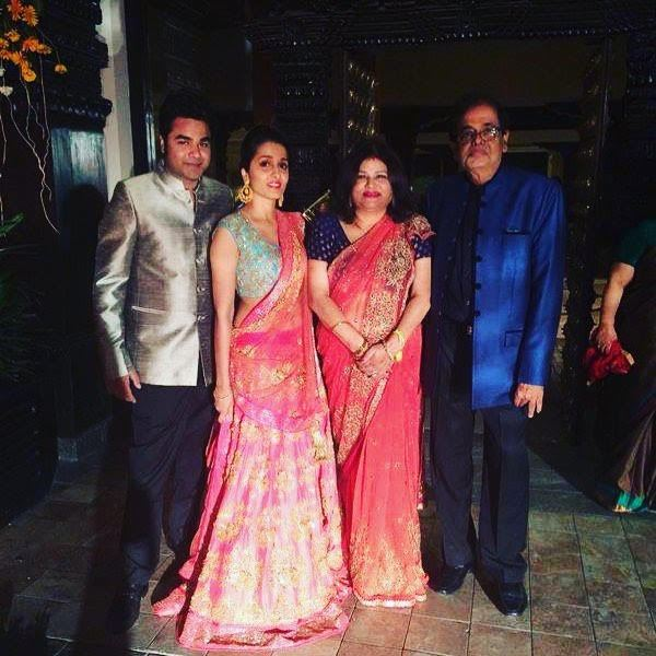 Rohit Gupta with his family