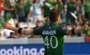 Shaheen Afridi's jersey number