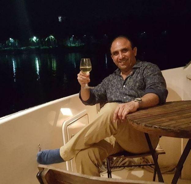 Bikramjeet Kanwarpal drinking alcohol
