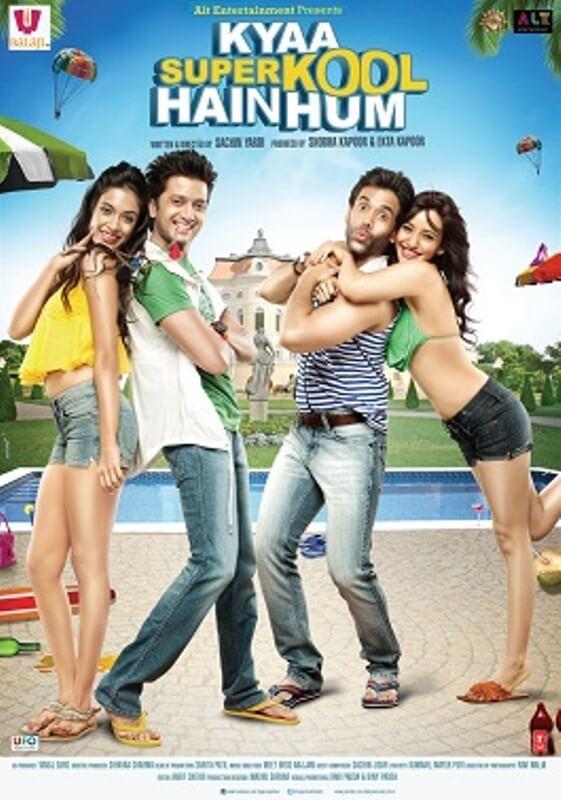 "Kanak Yadav's debut Bollywood film ""Kyaa Super Kool Hain Hum"" (2012)"