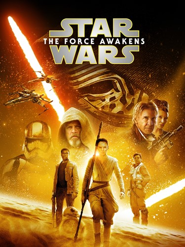 Poster of Star Wars- The Force Awakens (2015)