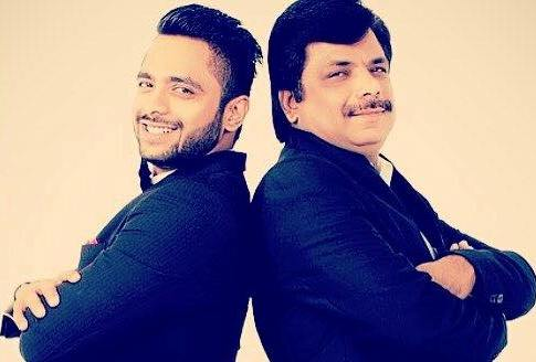Tanmay Ssingh with his father