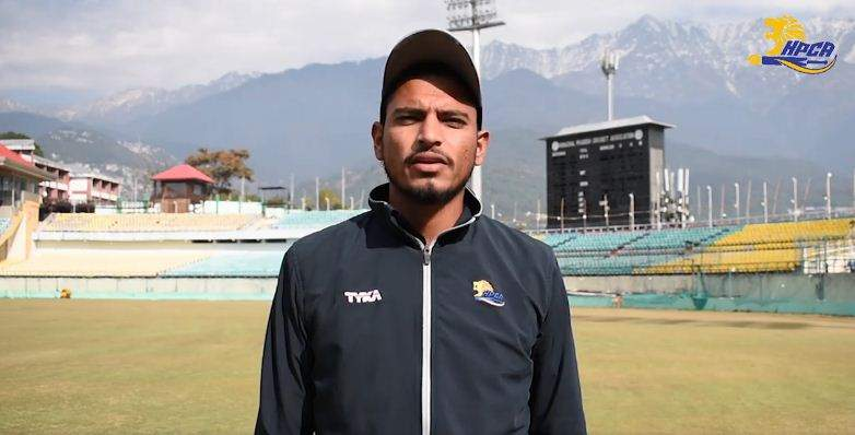 Vaibhav Arora after the match where he picked 9 wickets against Saurashtra
