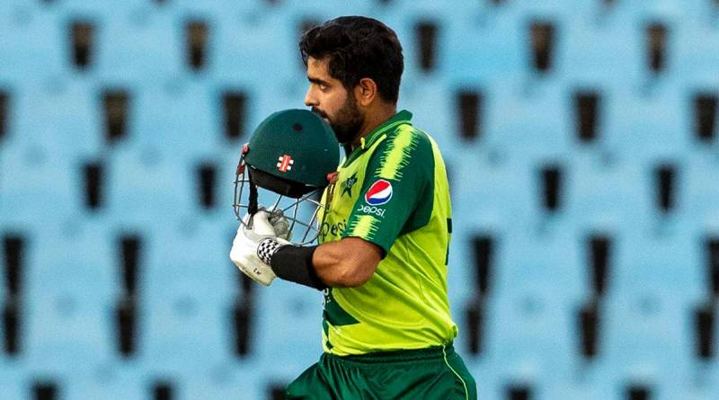 Babar Azam after scoring 122 runs in T20I match against South Africa